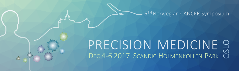 6th Norwegian Cancer Symposium, Oslo, 4 to 6 December, 2017